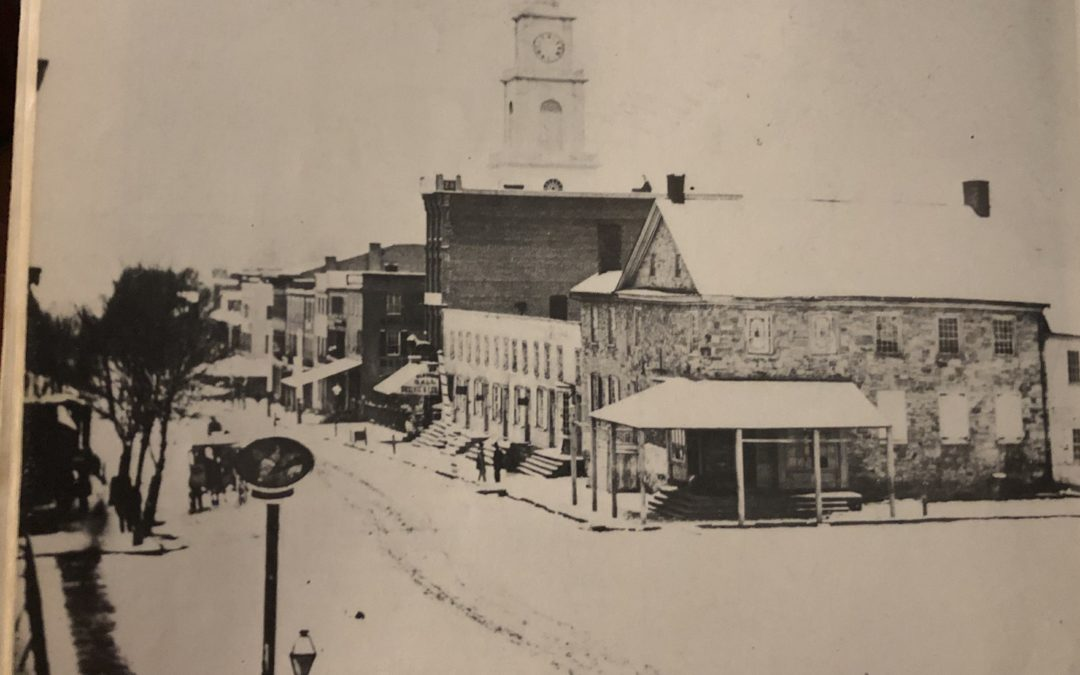 "Center Square, Allentown 1862 (Shared from ""Allentown: A Pictorial History"")"
