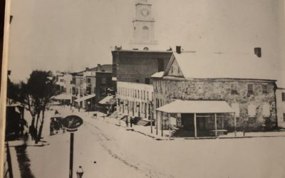 """Center Square, Allentown 1862 (Shared from """"Allentown: A Pictorial History"""")"""
