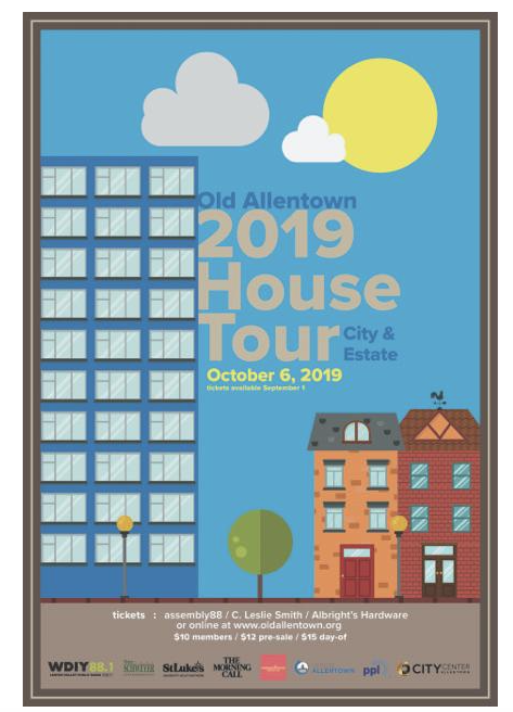 Old Allentown House Tour: Sunday October 6, 2019